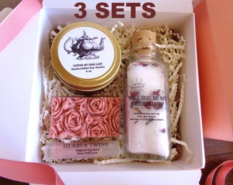 Bridesmaid Spa Gift Set Spa gift set, Will you be my Asking Bridesmaid gift Bridesmaid proposal gift Bridesmaid proposal spa gift Proposal