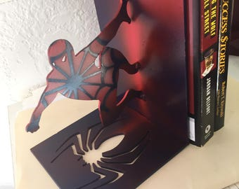 spider man book ends (Pair)