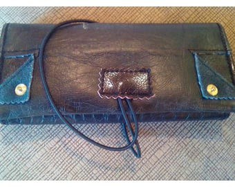Handmade leather tobacco case