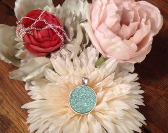 Sparklet Mint pendant