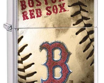 Boston Red Sox MLB Baseball Sports Brushed Zippo Lighter - NEW