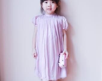 Silk Yoke dress