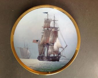 Great Ships of the Golden Age Of Sail Collector Plate