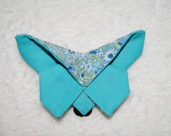 Hair clip 'Butterfly' floral