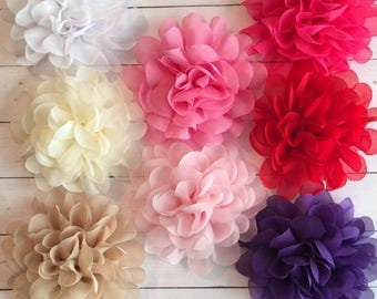 Pick 3 Flower baby headband...Baby bow, infant bow