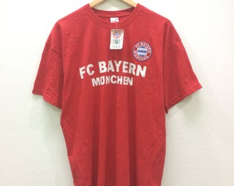 RARE FC Bayern Munchen T-shirt Tee New With Tag