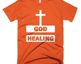 God Healing Short-Sleeve T-Shirt