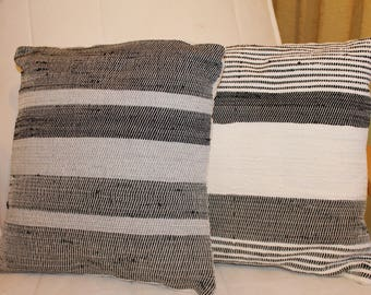 decorative pillows woven on old hand loom