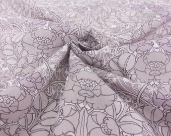 Liberty of London 467304 Jugendstill Grey Tana Lawn 100% Cotton Fabric