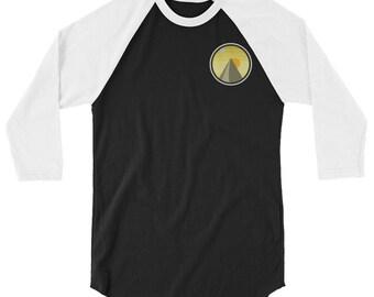 3/4 sleeve raglan Sunrise shirt