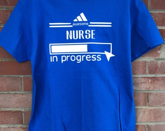 Nurse in Progress Short Sleeve Shirt