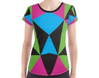 Geometric Neon T-Shirt