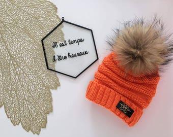 Hat Lyv - Orange - child