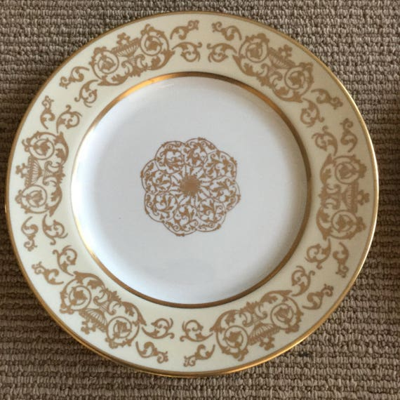 Like this item? & Pickard Ravenswood Gold dinner plates