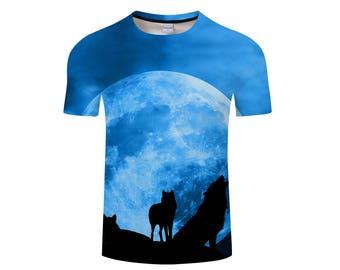 Wolf Shirt, Wolf Shirts, Wolf Tee Shirt, Wolf Tshirt, Wolves Shirt, Wolf T-shirt, Wolf, Wolves, Wolves Tshirt, Shirt, Wolf Tee - Style 16