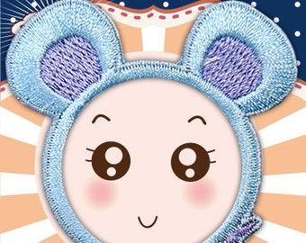 ICONA Transform Embroidery Sticker Patch - Chinese Zodiac - Rat