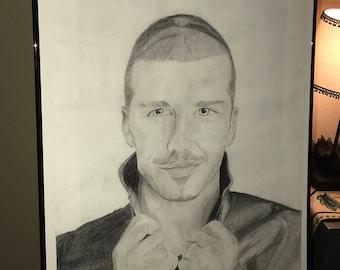 David Beckham Drawing