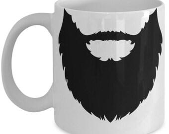 Beard Mug - Beard Mugs For Men - Gag Gift For Men or Women