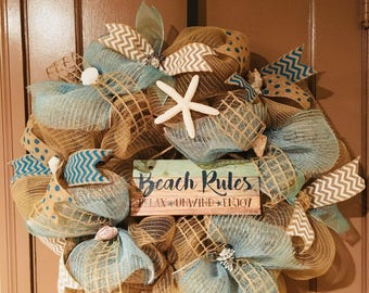 Beach wreath