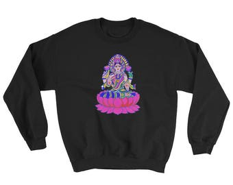 Sweatshirt with Lakshmi giving her blessings!