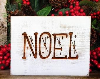 Rustic Noel Sign