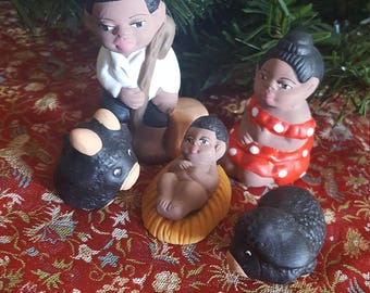 Peruvian Nativity Scene / Nacimiento Afroperuano