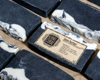 Purifying SOAP: Activated charcoal and white clay