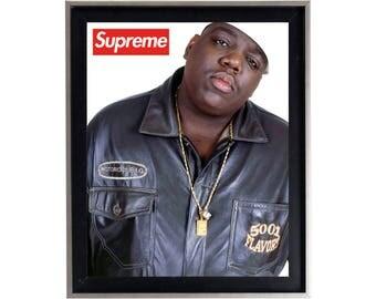 Supreme x Biggie Smalls Poster or Art Print