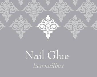 Professional Nail Glue | Press On Nails | Glue On Nails | Fake Nails | Nail Tips
