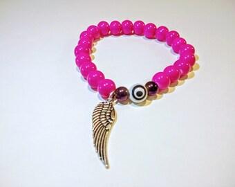 Autism is love pink bracelet