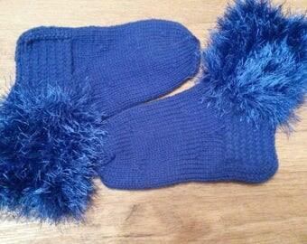 Children socks for boys.Natural wool.