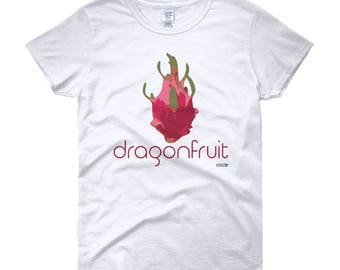 Dragonfruit 2 T-Shirt - Womens - Foodie - Chef - Organic