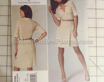 Vogue Tracy Reese V1285 Sewing Pattern Knit Shirt Dress
