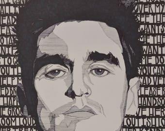 Morrissey Illustration - I Know It's Over