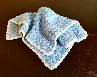 Lovey/Lovey Blanket/Mini Blanket/Crochet Lovey Blanket/Baby Lovey Blanket/Security Blanket/Car Seat Blanket/Stroller Blanket