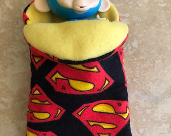Fingerlings Finger Monkey Superman sleeping bag accessory