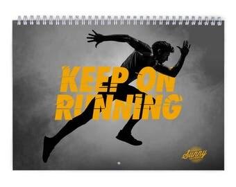 Running 2018 Wall Calendar