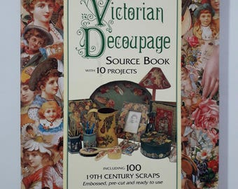 Victorian Decoupage Source Book