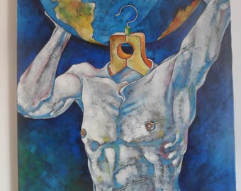 Canvas Painting, Original, Abstract Painting, Oriгginal Art, Acrylic Art, Modern Art, Contemporary Home Decor