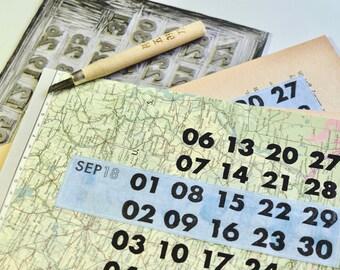 2018 Linoprint Vintage Calendar