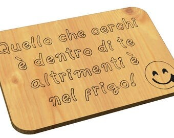 Decorative chopping board with your funny gift phrase for every occasion home kitchen furniture