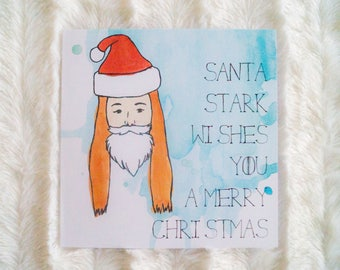 Santa Stark - Game of Thrones Christmas Card