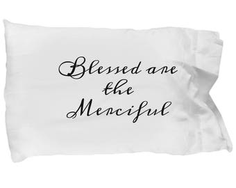 Blessed are the merciful, pillowcase, the Beatitudes series