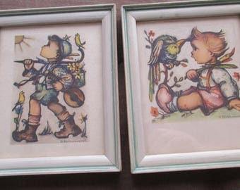 B. hummel framed greeting cards