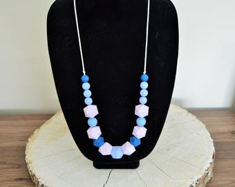 Teething Necklace | Nursing Necklace | Fidget Necklace | Teething Accessories | Teething Jewelry | Chewlery | Chew Beads | Baby Accessories