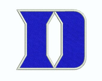Duke Blue Devils Embroidery design 11 Size INSTANT download machine embroidery