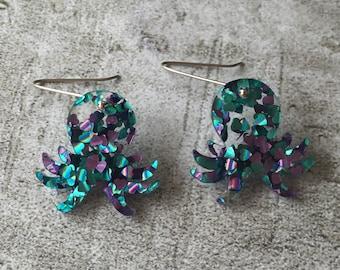 Octopus Earrings!!!