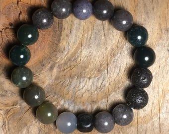 lava stone diffuser bracelet, lava bead diffuser bracelet, essential oil diffuser bracelet, essential oil bracelet, lava bead bracelet, yoga