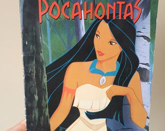 1995 Disney's Pocahontas - Adapted from the Film - Vintage and Used Novel