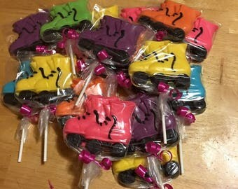 Roller Skate Lollipops